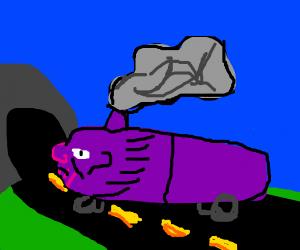 Sneezing thanos train