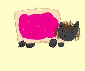 Nyan Cat with hair