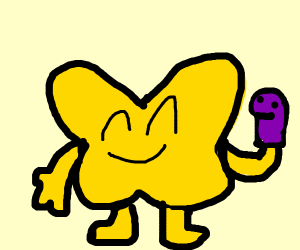 X from BFB plays with pupprts