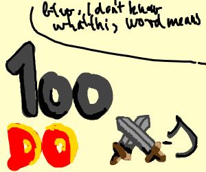 100 dowars