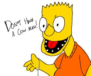 Bart Simpson Muppet