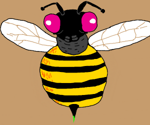 Legless bee