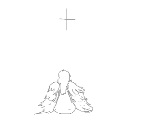 Pious angel