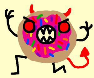 Evil donut