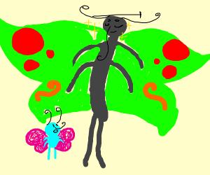 Tall Butterfly