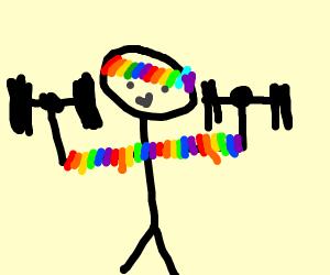 Rainbow Athlete