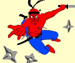 spiderman ninja