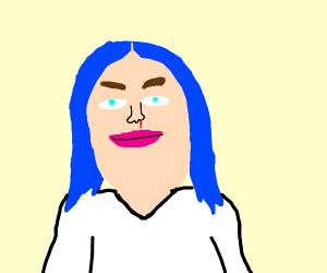 Billie Eyelash portrait