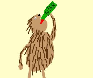 Drunk Porcupine