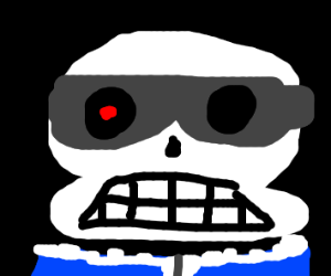 Sans but he's the terminator