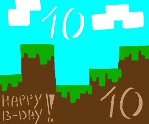 Minecrafts birthday