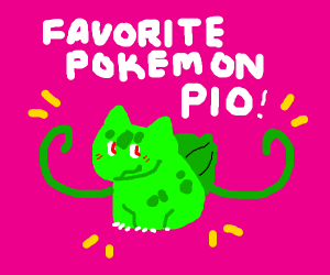Draw Your Favorite Pokemon