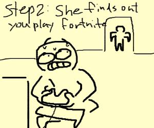 Step 1: Get a girlfriend