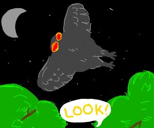 oh look its mothman!!