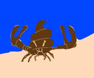 Poo Crab