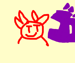 Crab + menacing sfx from jojo