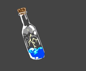 Storm in a bottle
