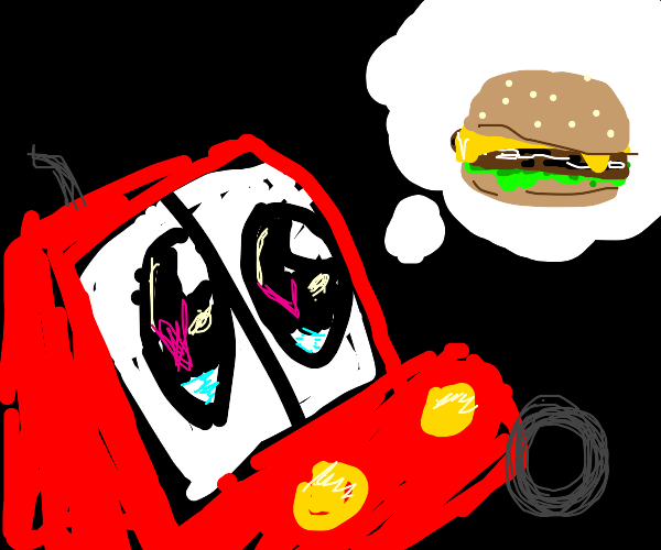 Truck dreams of burger