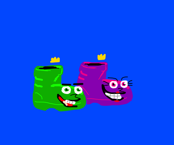 cosmo and wanda as boots