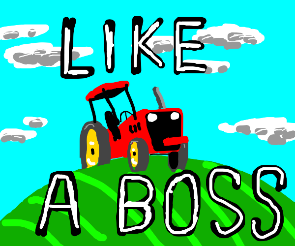 the tractor made a 2010 joke