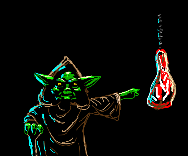Yoda Requires Meat
