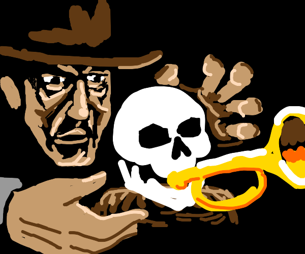 Indiana Jones and the spoopy skull