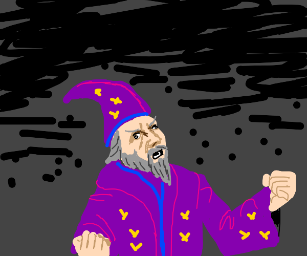 Wizard has too much MP