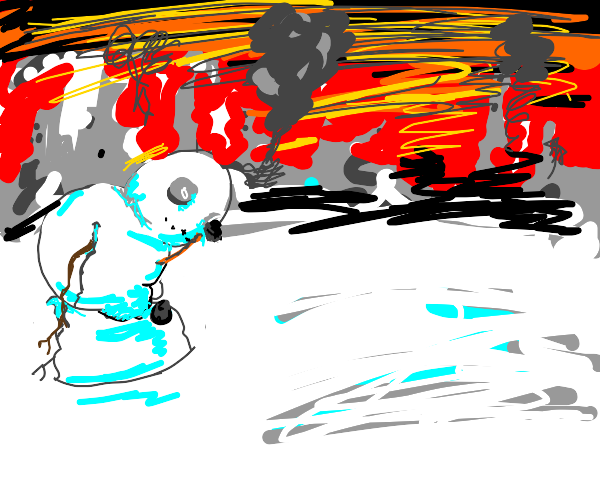 Apocalypse snowman