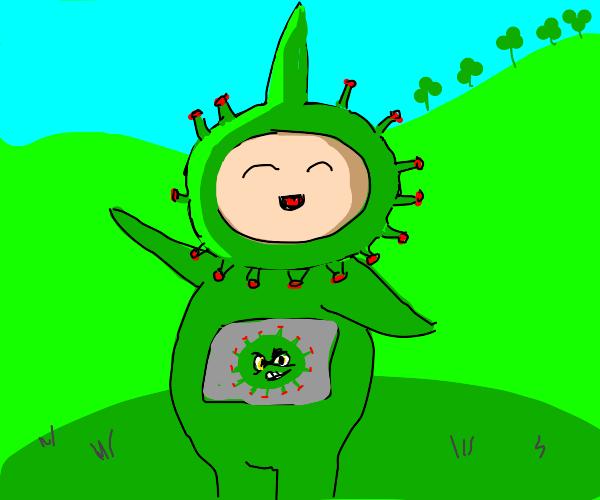 Green teletubbie virus