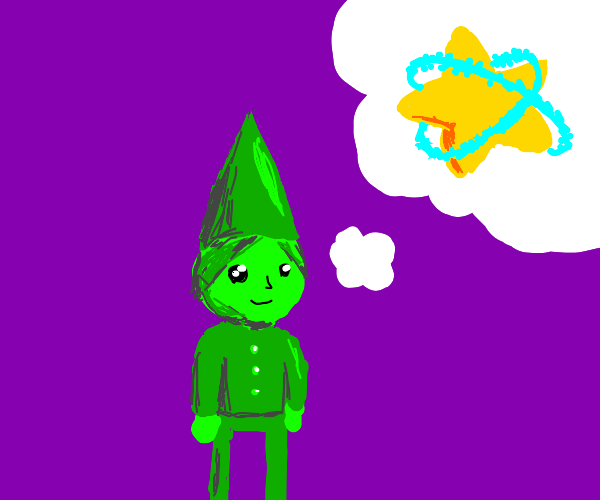 Green Gnome Dreams of Pop Star