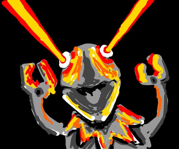 Kermit the cyborg