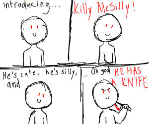"Design a new character named ""Killy McSilly"""