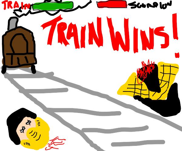 scorpion from MK VS Train