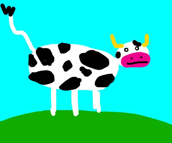 Deformed cow has 3 legs