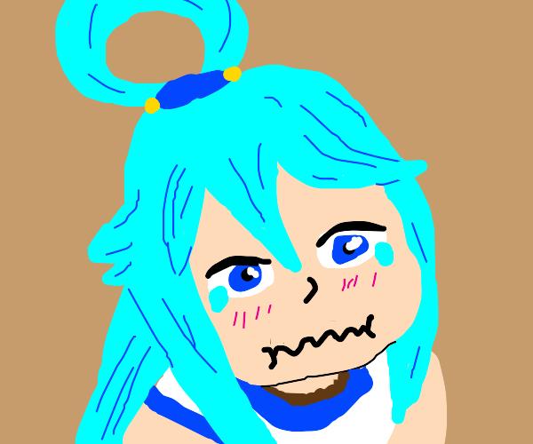 Aqua cries