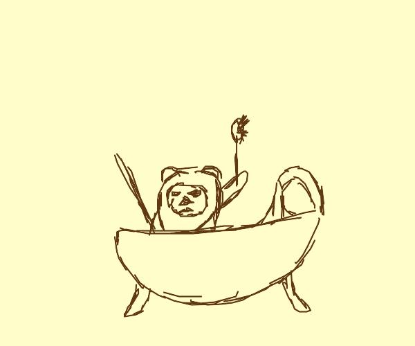 Ewok bath