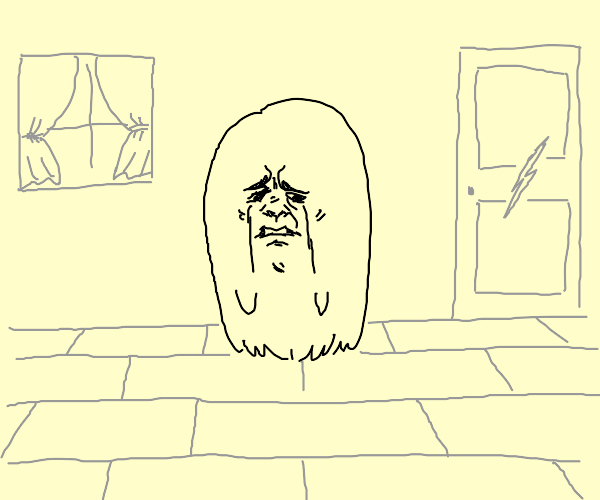 sad ghost :(