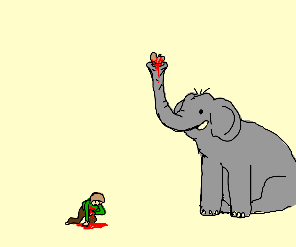 Elephant steals your kidney