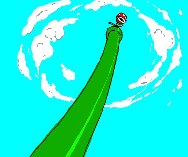 a tall warp pipe (mario)