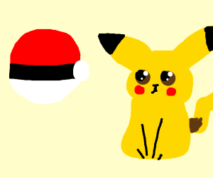 Pikachu pokeball