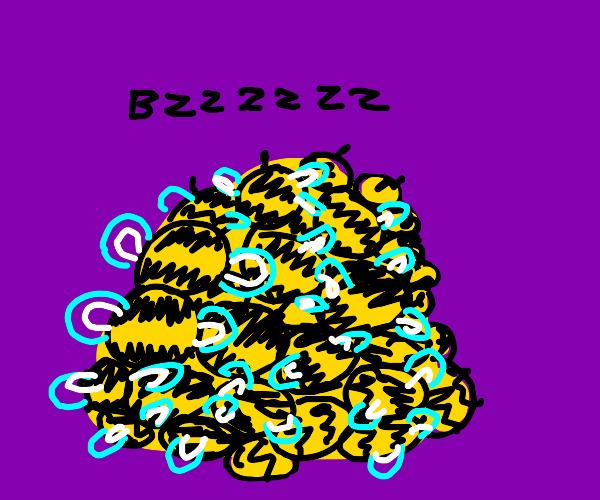 Pile o' bees