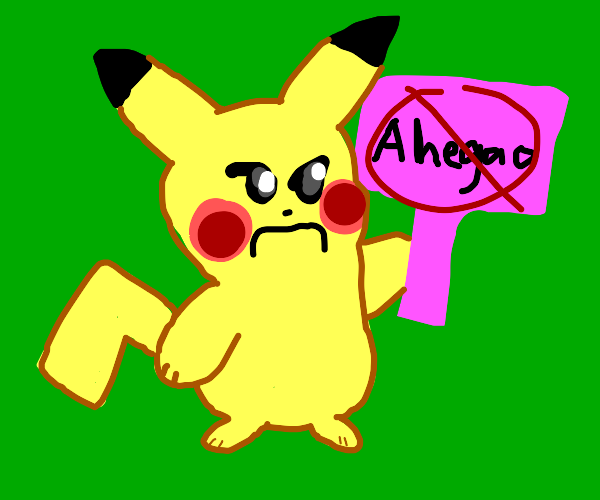 Pikachu judges you for ahegao related sins