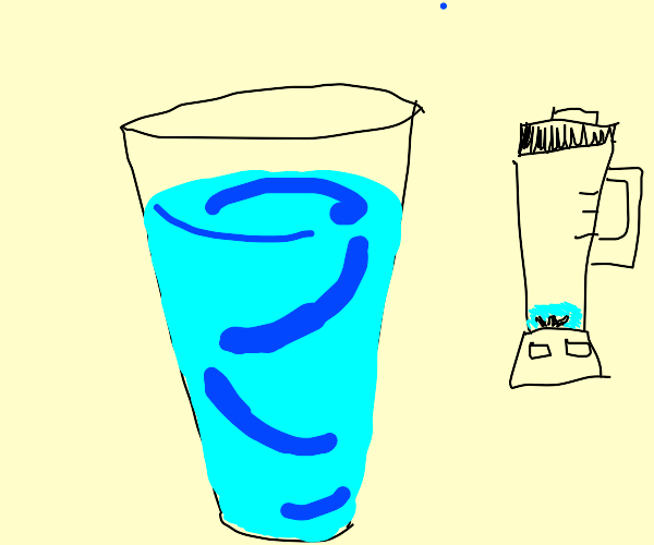 water smoothie
