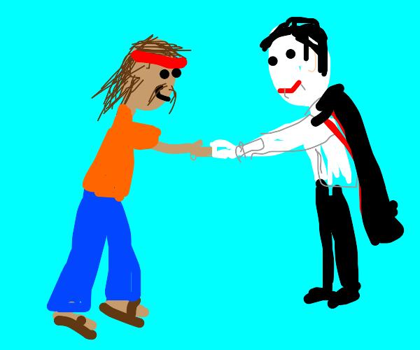 A Hippie Meets a Vampire