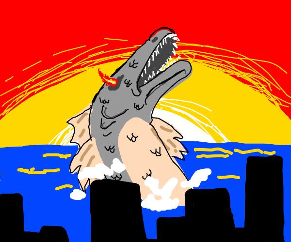 the apocalypse fish rises