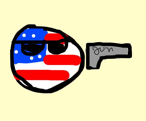 america has a gun