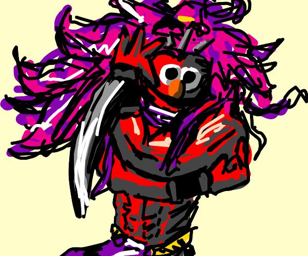 Pillar Man Elmo
