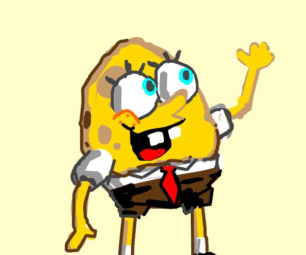 Spongebob, but he's an egg
