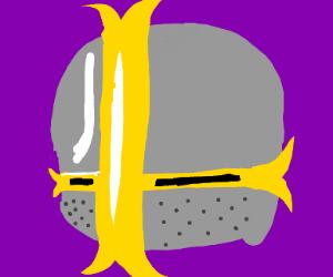 smash ball/crusader helmet