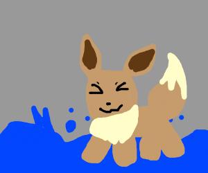 Eevee used Dive!